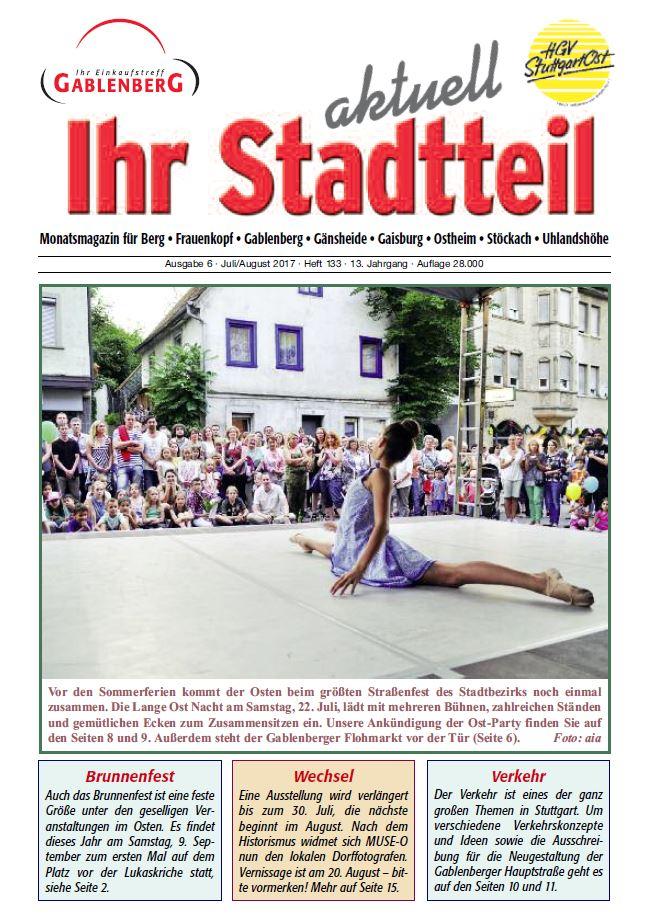 Ihr Stadteil aktuell - Juli/August 2017