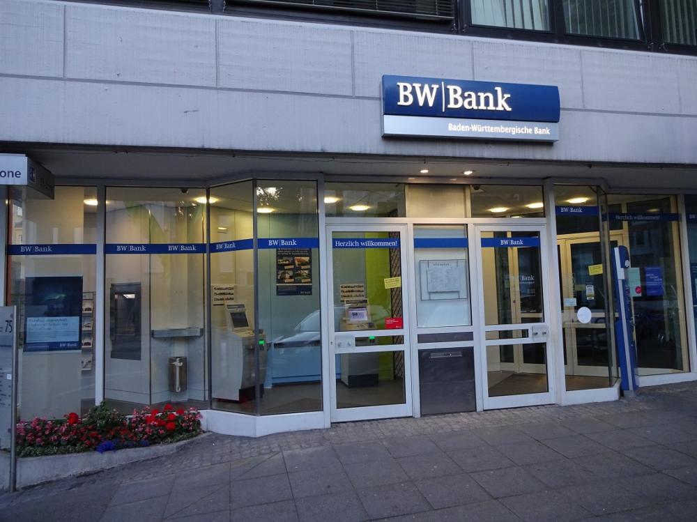 Baden-Württembergische Bank BW-Bank In Backnang ⇒ In Das